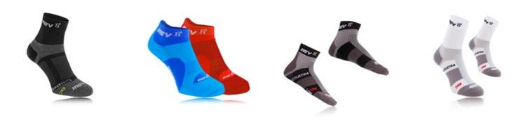 Bežecké ponožky sú rôzne