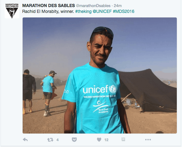 Rachid El Morabity - Marathon des Sables 2016