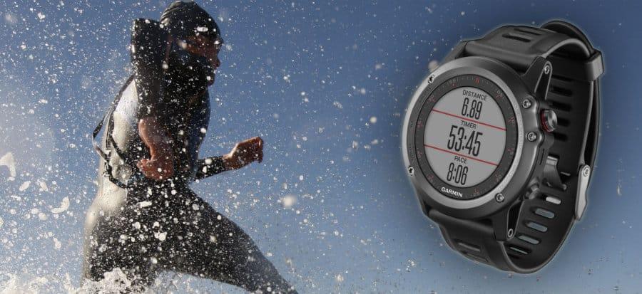 Vodovzdornosť bežeckých hodiniek